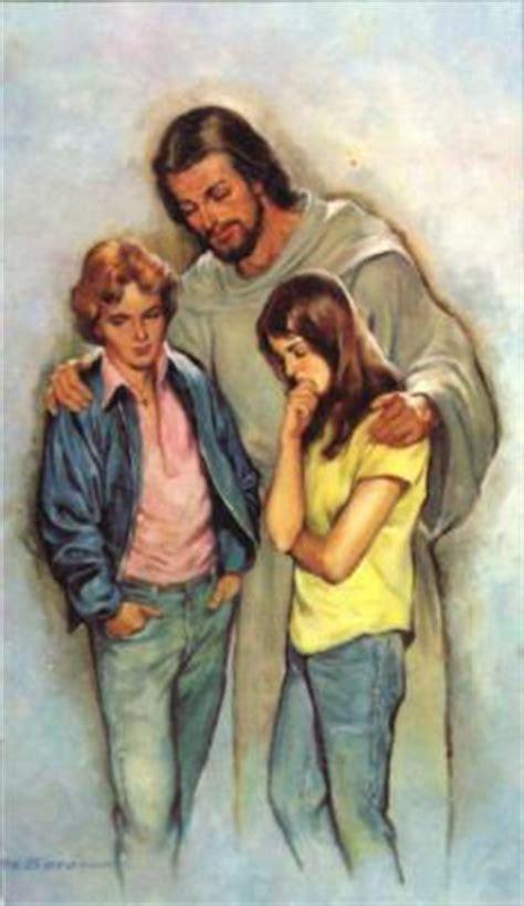 imagenes de jesus hablando con un joven proyecto joven jesus con los jovenes