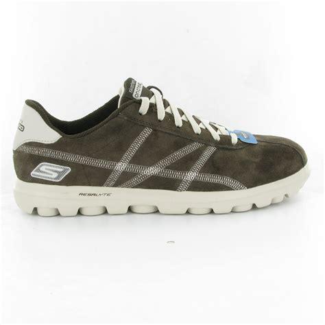 skechers go walk sandals skechers 53561 go walk lace shoes in brown
