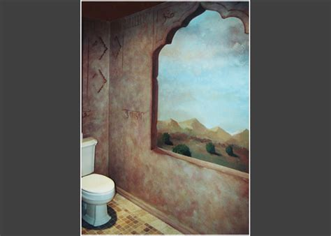 fake window in bathroom windows and accents painter genie