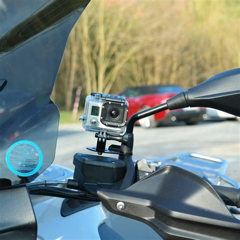 Motorrad Spiegel Mit Halterung motorrad action cam halterung an spiegelbefestigung