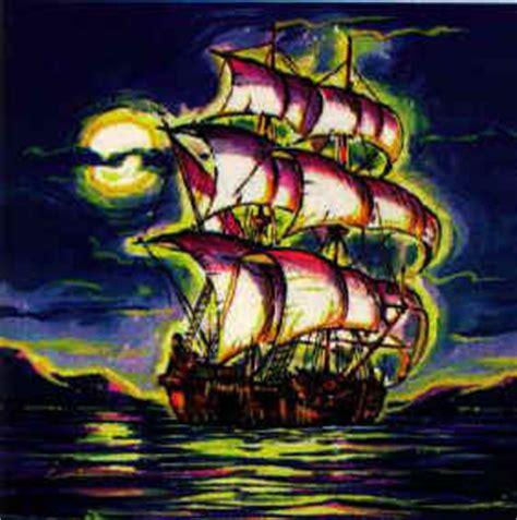 barco fantasma dibujo cambiar el mundo leyendas chilenas el caleuche