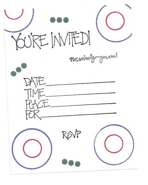 simple birthday invitation by sandy weakley at