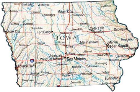 iowa state map image gallery iowa state map