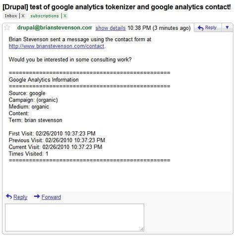 analytics tokenizer drupal org