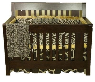 Leopard Print Crib Bedding Set Animal Print Baby Bedding