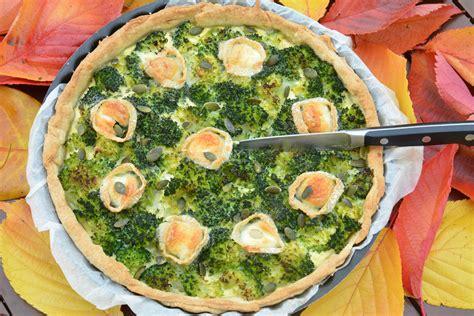 cuisiner le brocolis tarte au brocolis et ch 232 vre au fil du thym