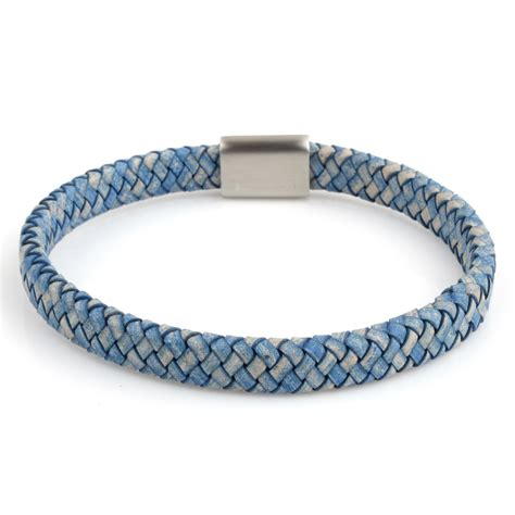 Braided Genuine Leather Bracelet wristband leather braided bracelet