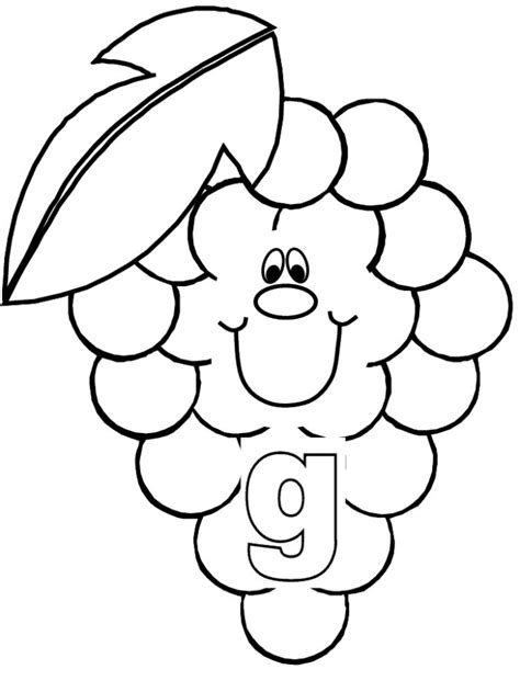 Grapes Coloring Pages To Print by Amazing Coloring Pages Grapes Printable Coloring Pages