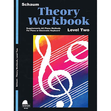 cmt level ii 2018 theory and analysis books schaum theory workbook level 2 educational piano book by
