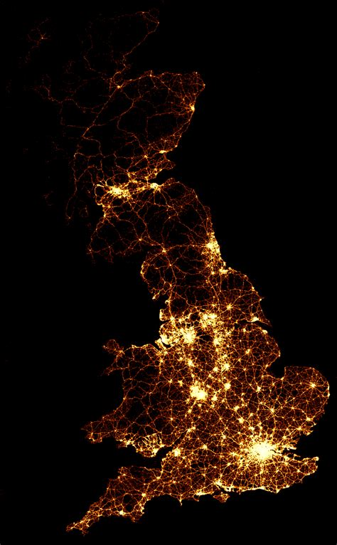 Lights Uk Bbc News Every Death On Every Road In Great Britain 1999