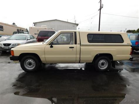 1986 Toyota Value 1986 Toyota Used 2 4l I4 8v Automatic No Reserve