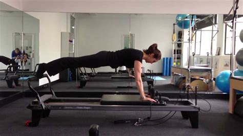 pilates exercises  sports people   reformer youtube