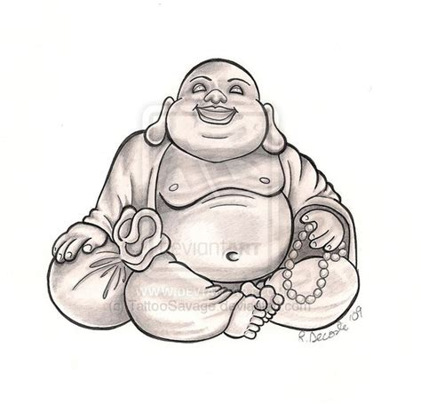 fat buddha tattoo buddha by tattoosavage on deviantart