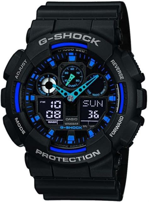 G Shock Black Huruf Blue Kw casio g shock blue black color price review and buy in