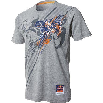 T Shirt 00977 Ktm Fox Dungey ktm powerwear bull factory racing dungey pro t shirt