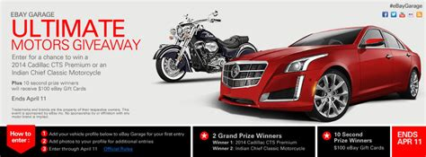 win a cadillac cadillac giveaway contest autos post