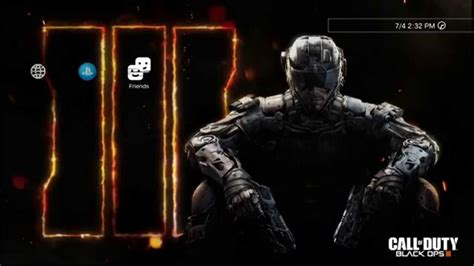 themes ps3 black ops 1 call of duty black ops iii dynamic theme youtube