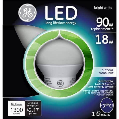 ge led flood light bulbs ge 90w equivalent bright white 3000k par38 dimmable led
