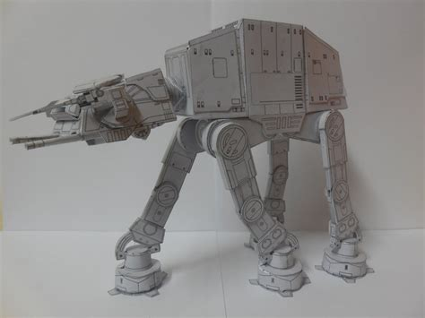 Papercraft At At - wars at at papercraft by leonardoterror on deviantart