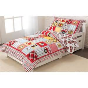 Toddler Bed Sheets At Walmart Kidkraft Truck Toddler Bedding 77003 Walmart