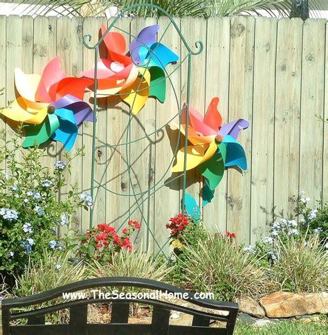 Garden And Gun Easter by Theseasonalhome Staple Gun Oversized Pinwheels To A