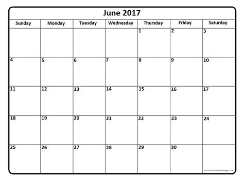 calander template june 2017 calendar printable template holidays pdf
