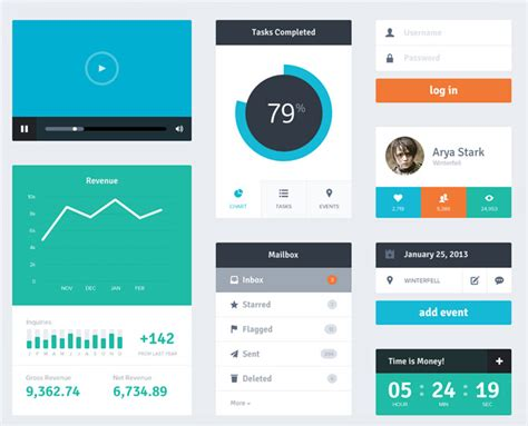 flat ui design templates dashboard design archives free dashboard templates