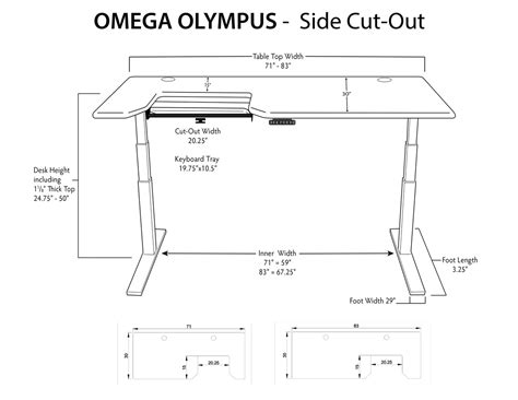 stand up desk dimensions imovr olympus adjustable height stand up desk review