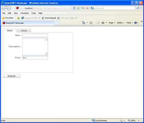 layout orientation java form data validation smart gwt form 171 gwt 171 java