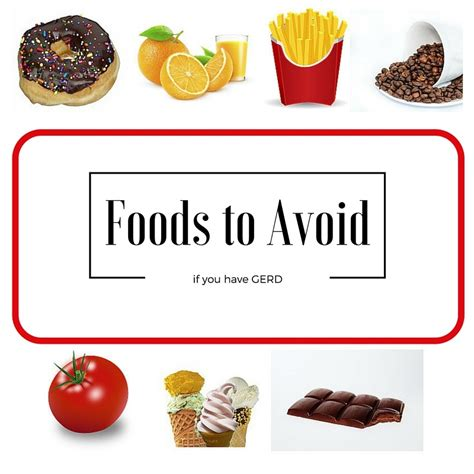 foods to avoid fighting gerd or acid reflux livingwell911