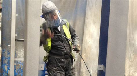 spray painter glasgow possilpark shotblasting specialists in metal finishing