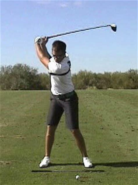left shoulder pain golf swing backswing