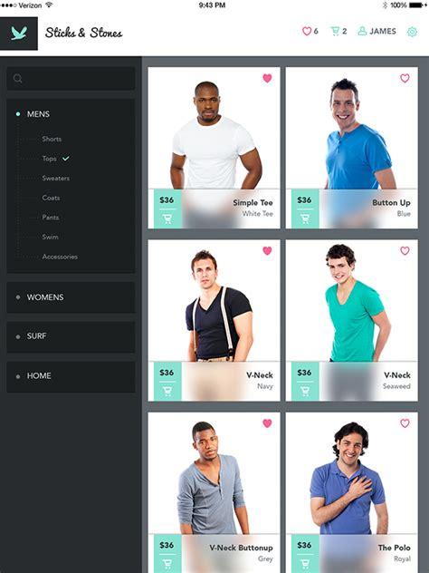 design app photoshop create a mobile shopping app design in photoshop