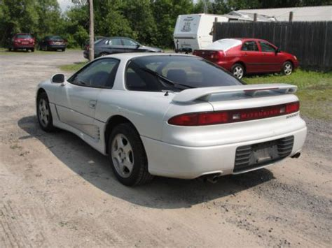 vehicle repair manual 1995 mitsubishi 3000gt on board diagnostic system buy used 1995 95 mitsubishi 3000gt gt 5 speed manual 2 door coupe white 121k miles in rochester