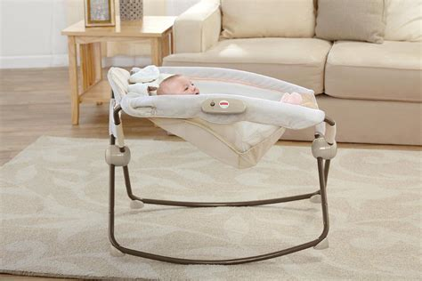 Infant Sleeper Chair by Fisher Price Snugapuppy Deluxe Rock