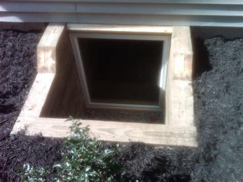 basement exit windows basement egress escape window builder contractor warwick ny
