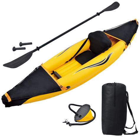 lifetime lotus blue kayak with paddles and backrest 90112