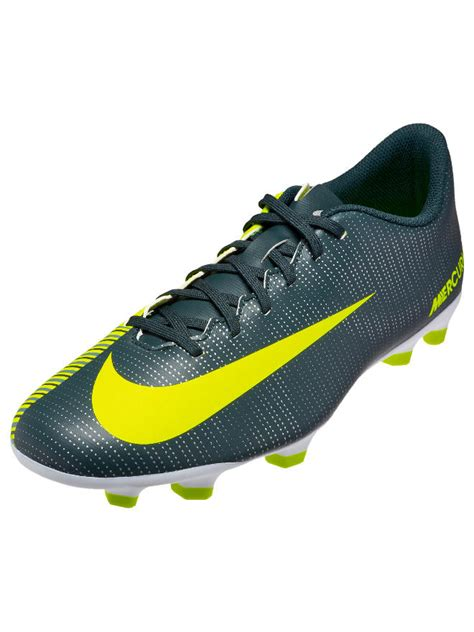 green football shoes football boots shoes nike cleats mercurialx vortex iii cr7