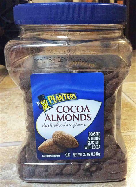 Planters Cocoa Almonds Dark Chocolate Flavor Review Planters Cocoa Almonds