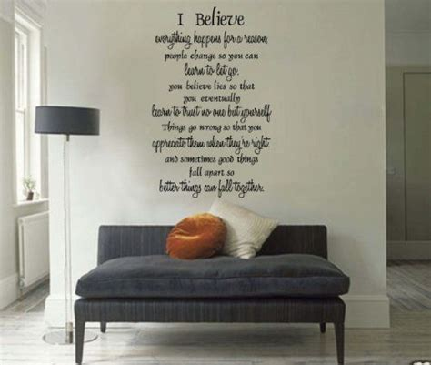 everything happens for a reason and other lies i ve loved books marilyn wall decals i believe that everything