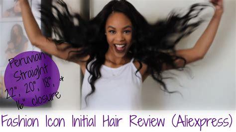 hair aliexpress review fashion icon hair