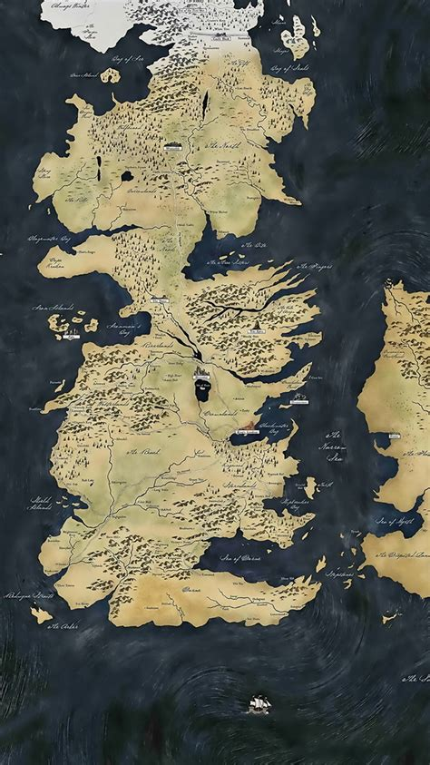 Of Thrones Map F0470 Iphone 5 5s Se Casing Premium Hardcase of thrones map iphone 6 wallpaper wallpapers