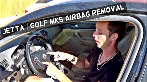 Nwa Volkswagen by Vw Jetta Golf Mk5 Driver Airbag Removal Steering Wheel
