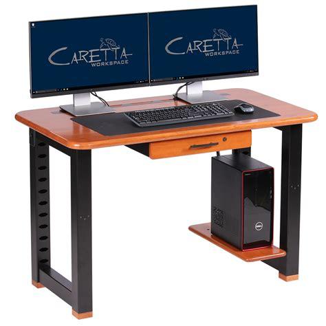 small computer desk with shelves small shelf for loft desk cherry caretta workspace