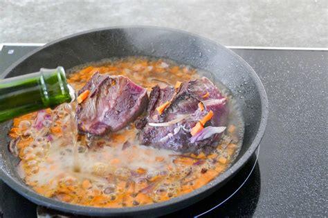 cuisiner des joues de boeuf joue de boeuf cuisson basse temp 233 rature
