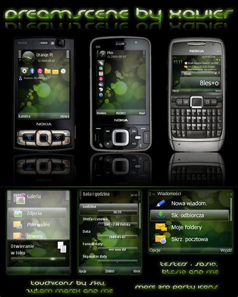 themes download my phone mobile phone tool download dreamscene symbian s60v3 theme