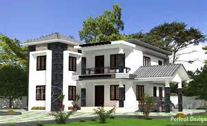 home designe 4 bedroom house plans in kerala double floor bedroom