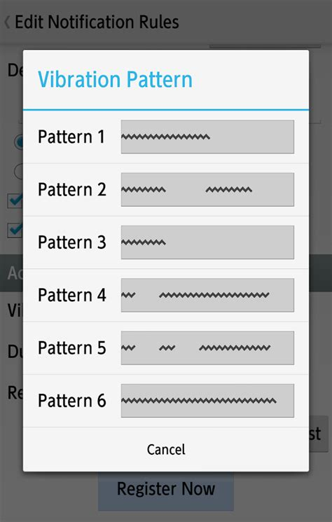 vibrate pattern android exle wear custom vibration android apps on google play