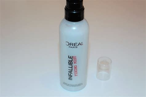 Loreal Mist l oreal infallible fixing mist review really ree