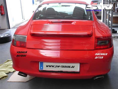 Porsche R Ckleuchten by Led R 252 Ckleuchten Porsche 911 Typ 997 Bj 05 09 Chrom Zur 252 Ck